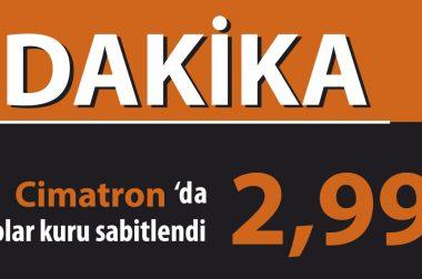 Cimatron Kampanyasında Sabit Kur Avantajı!!!