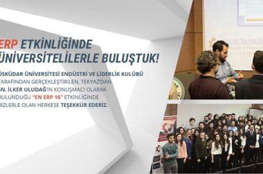 ERP Etkinliğinde Üniversitelilerle Buluştuk !!!