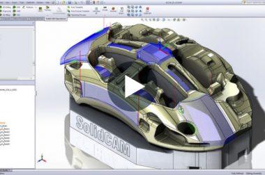 İleri Yüzey İşlemede SolidCAM HSS Modülü