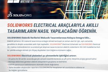 SolidWorks Electrical Araçlarıyla Akıllı Tasarımların Nasıl Yapılacağını Öğrenin.