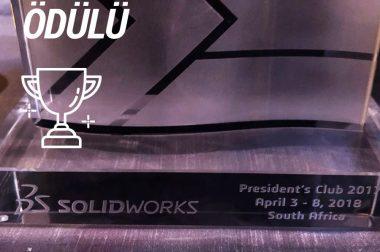 President's Club Ödülü TEKYAZ'ın!