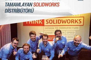 """""""SOLIDWORKS ve Entegre Ürünler Hedeflerini %100 Tamamlayan SOLIDWORKS Distribütörü"""" TEKYAZ"""