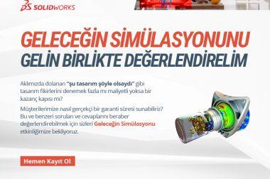 SolidWorks Simulation Etkinliğimize Davetlisiniz…