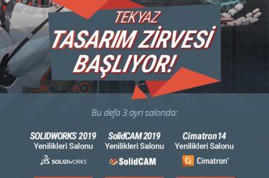 TEKYAZ TASARIM ZİRVESİ BAŞLIYOR !!!