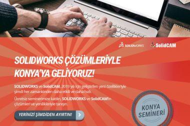 SOLIDWORKS Çözümleriyle Konya'ya Geliyoruz!