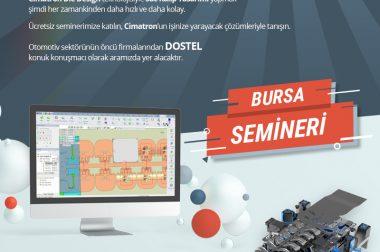 Cimatron Sac Kalıp Semineri Bursa'da…