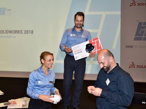 Tasarım Zirvesi boyunca katılımcılarımız çekiliş ile indirimler ve hediyeler kazandı.