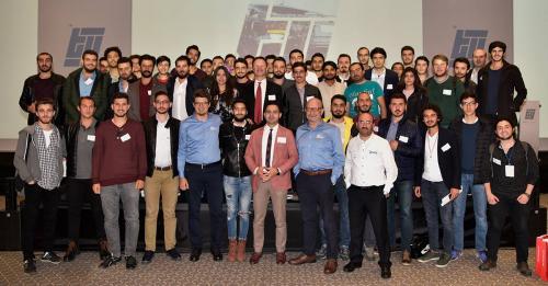 Gençlik enerjisi, zekası bir başka! ERÜ Makine Kulübü SOLIDWORKS Tasarım Zirvesi'nde!