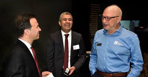 SOLIDWORKS CEO Gian Paolo Bassi & SOLIDWORKS Türkiye Satış Müdürü Burak Kuralkan & Tekyaz CEO Mustafa Erten