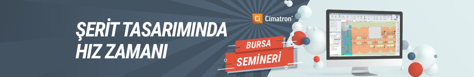 Cimatron Bursa Semineri